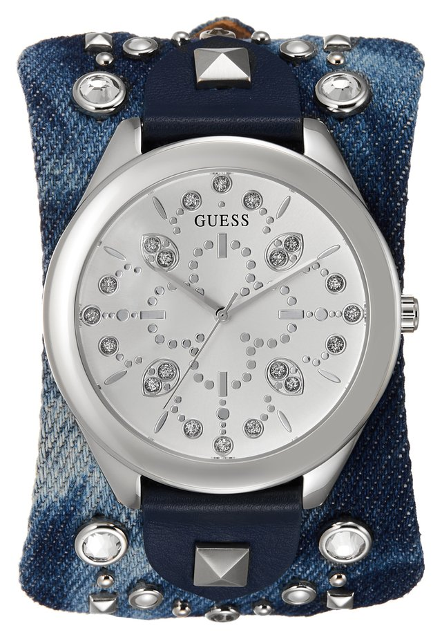 LADIES TREND - Uhr - silver-coloured/blue