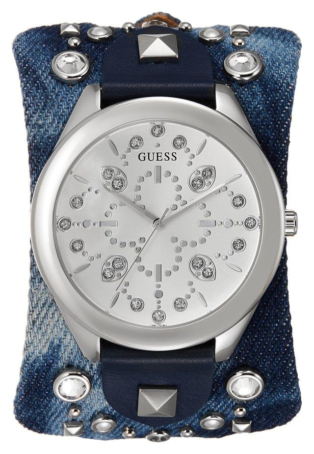 LADIES TREND - Orologio - silver-coloured/blue