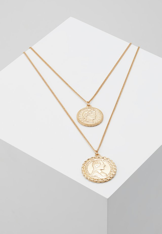 ONLKAREN COIN NECKLACE  - Halskette - gold-coloured