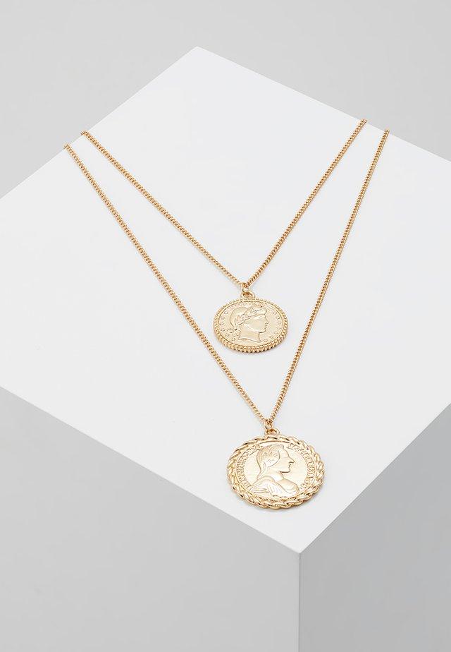 ONLKAREN COIN NECKLACE  - Collier - gold-coloured