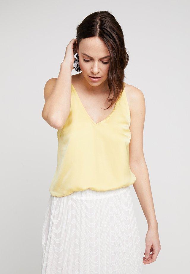 MARISA CAMI - Top - snapdragon yellow