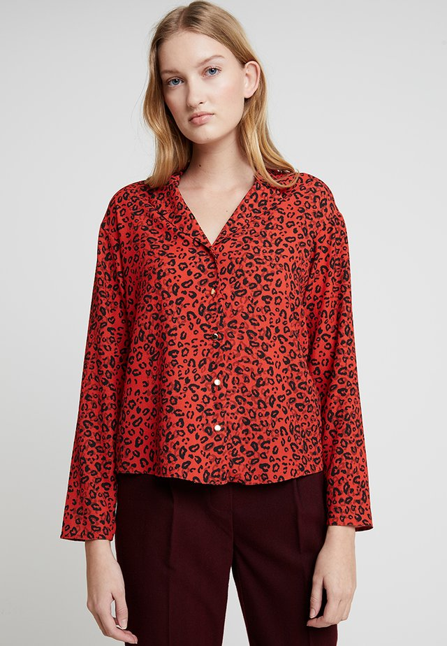 LEOPARD - Blouse - red
