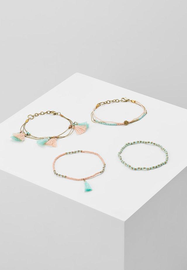 ONLELLY 4 PACK BRACELETS  - Armband - gold-coloured/morning mist
