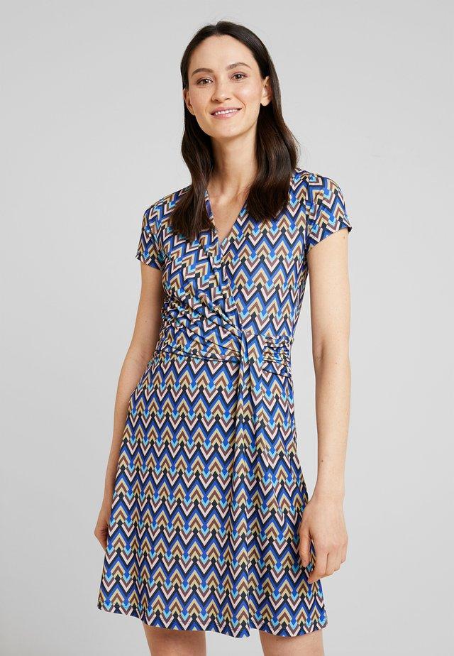 Vestito di maglina - multicolored/blue