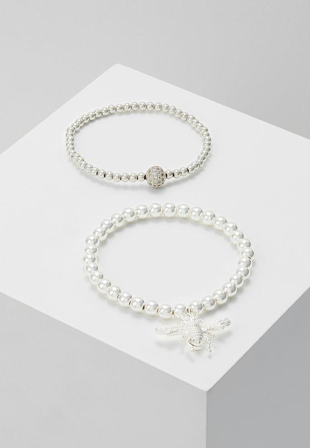 2 PACK VEERA - Bracelet - silver-coloured