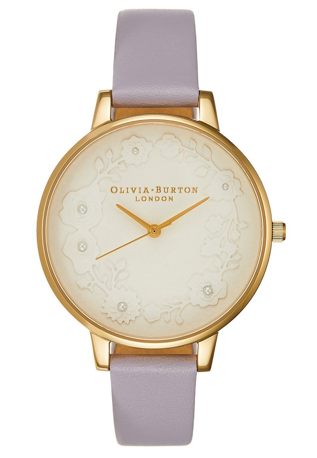Reloj - parma violet / gold-coloured
