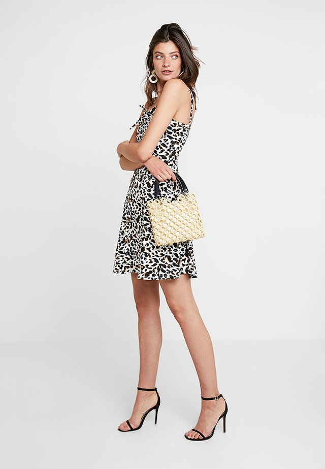 BUTTON THROUGH BOW CAMI - Jersey dress - multicolored