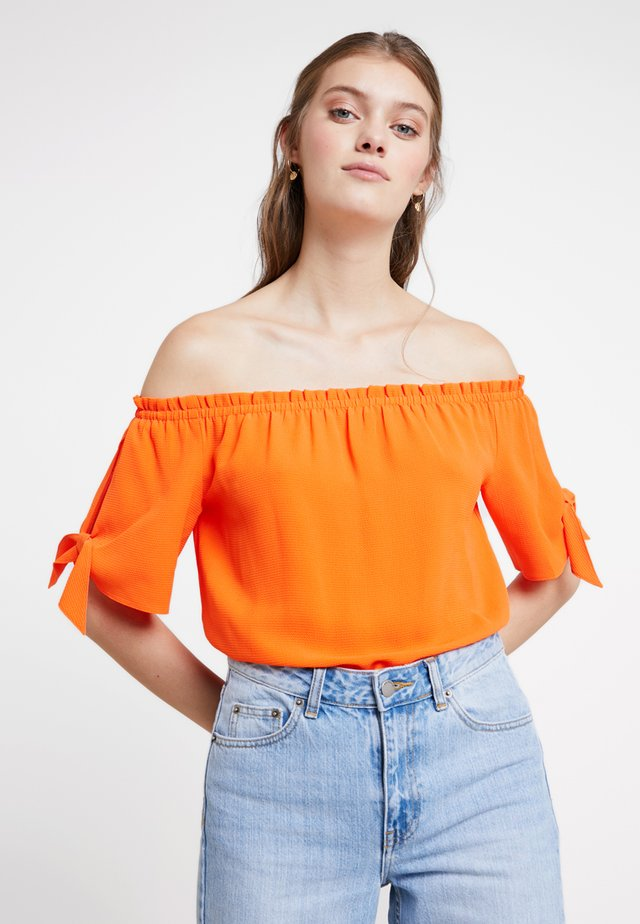 BARDOT NEW SHAPE - Blouse - orange