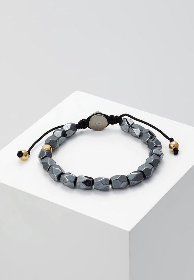 BEADS - Armband - grau