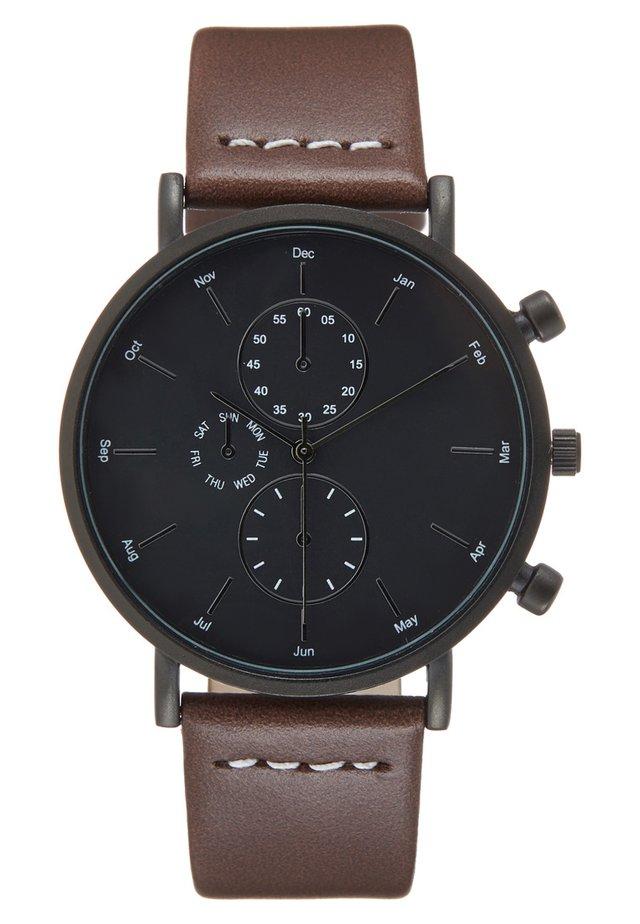 Zegarek - dark brown
