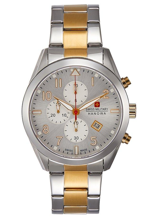 HELVETUS - Kronograf - silver-coloured/gold-coloured