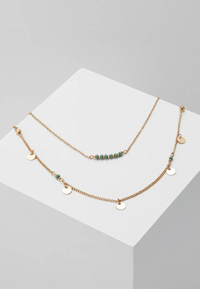 PCDAIVA NECKLACE  - Collier - gold-coloured