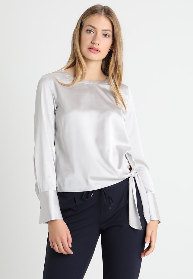 FLOTA  - Blouse - iron grey melange