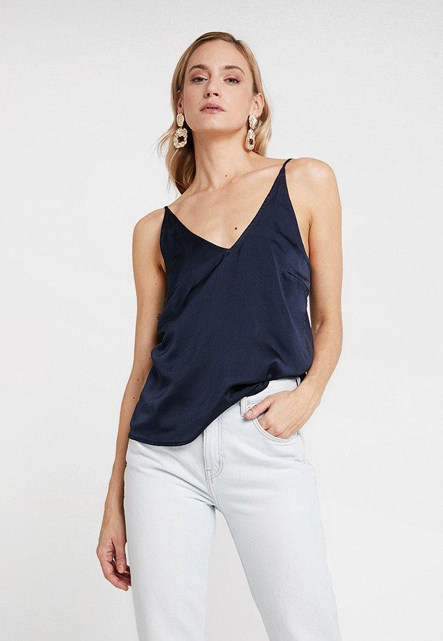 MARISA CAMI - Top - royal navy blue
