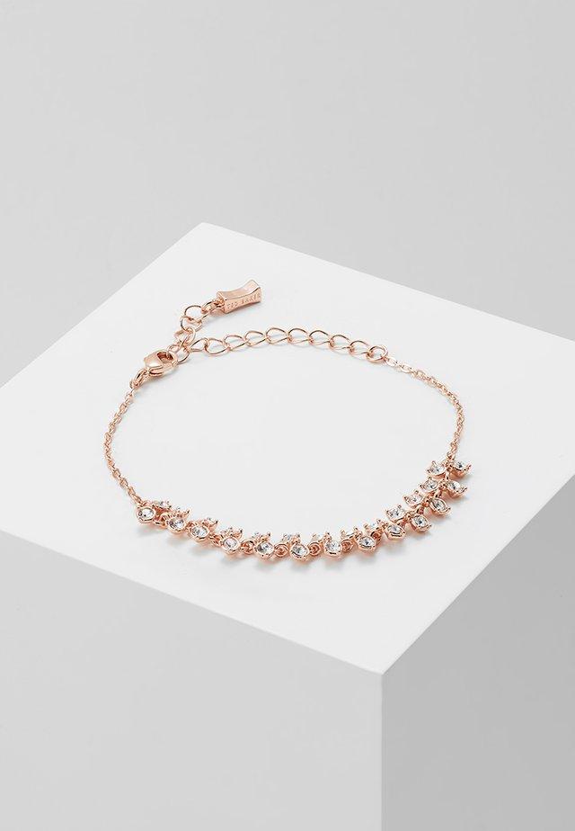 EDOLII PRINCESS SPARKLE BRACELET - Armband - rose gold-coloured