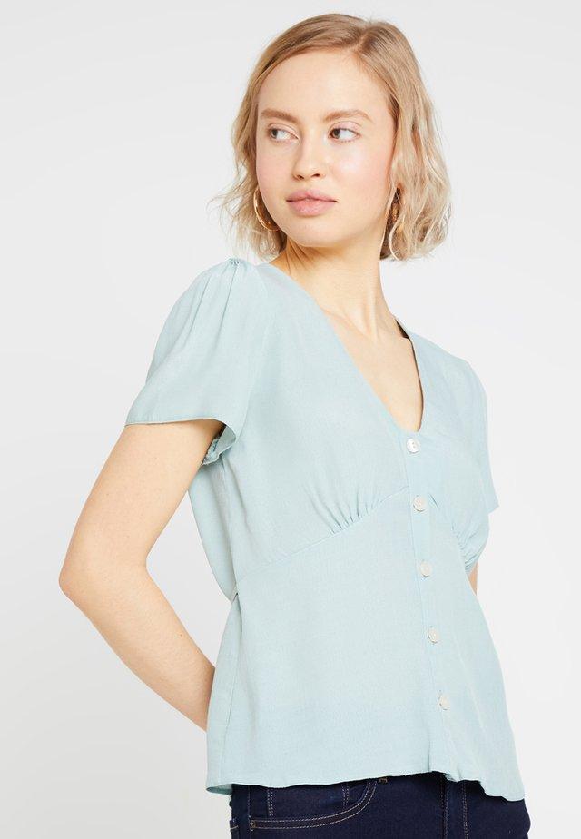 PLAIN PENELOPE TEA BLOUSE - Bluser - mint green