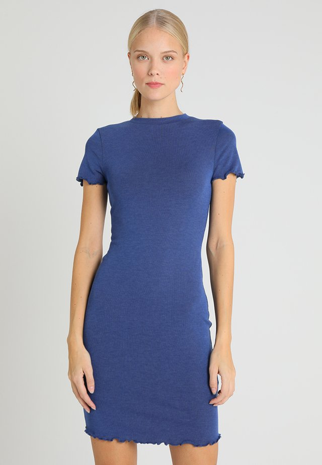 Jersey dress - blue indigo