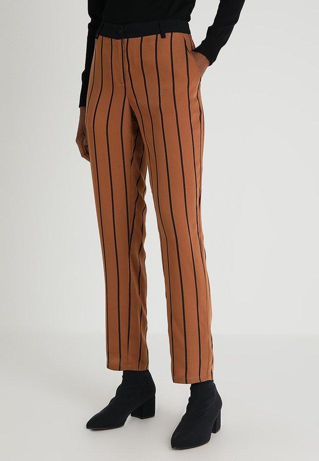 KAVITA PANTS - Trousers - rawhide