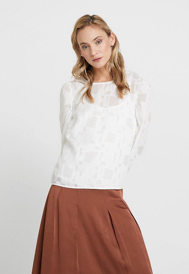 PAPALINA FORMAL BLOUSE - Bluse - optical white