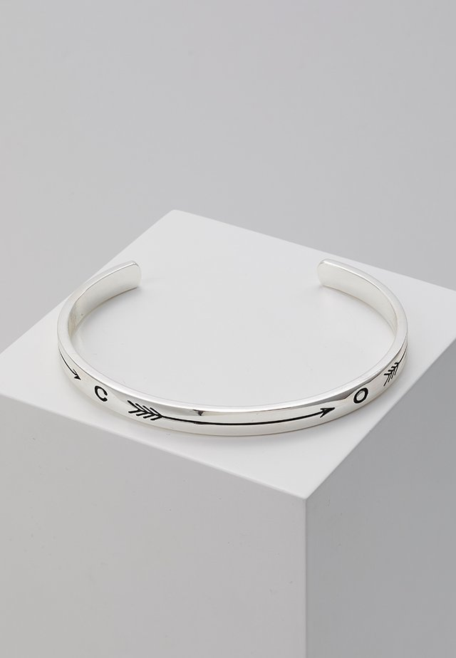 TAKE AIM PREMIUM CUFF - Pulsera - silver-coloured