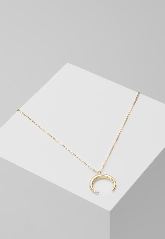 CRESCENT DITSY NECKLACE - Collier - silver-coloured