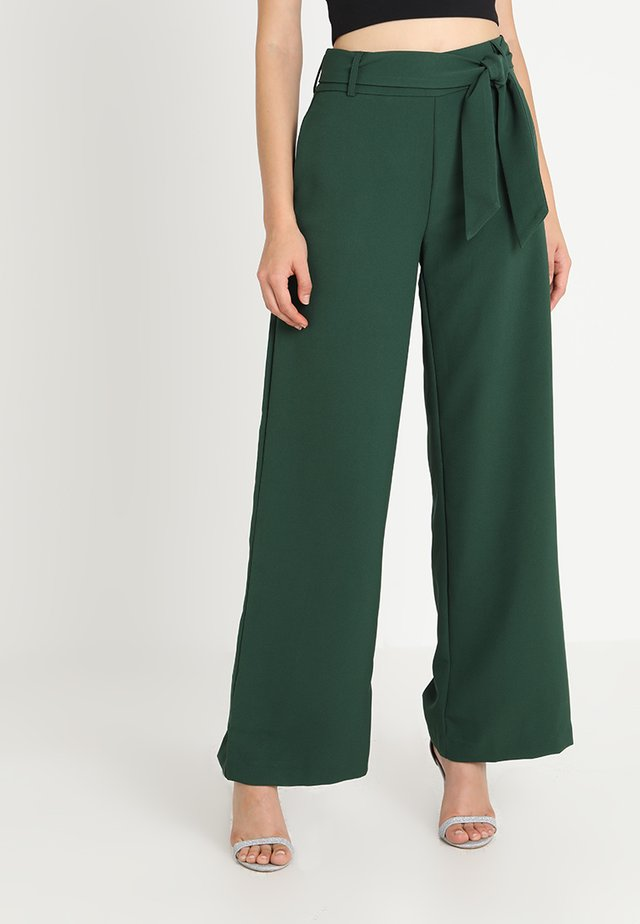 BLAKE - Trousers - forest green