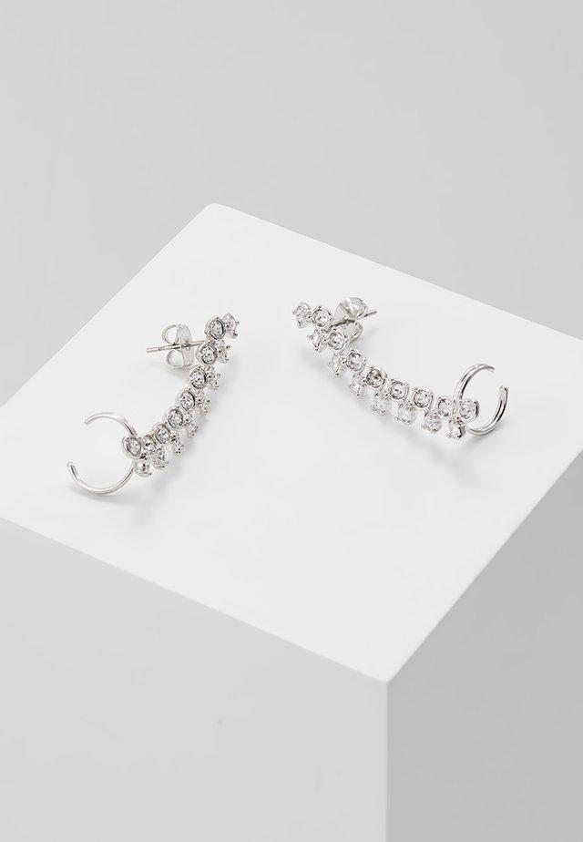 ELDORIA PRINCESS SPARKLE EAR CUFF - Bracelet - silver-coloured