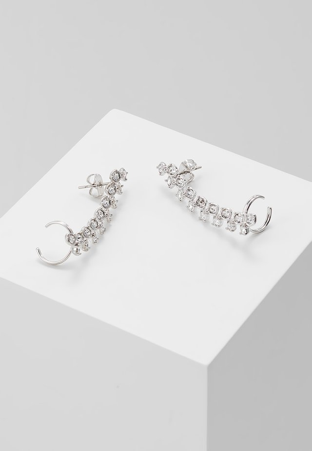 ELDORIA PRINCESS SPARKLE EAR CUFF - Armband - silver-coloured