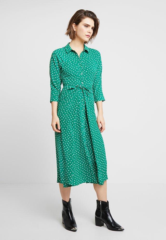 ABSTRACT - Shirt dress - green