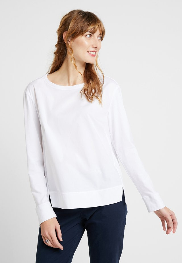 BLOUSE PATCH - Camicetta - white