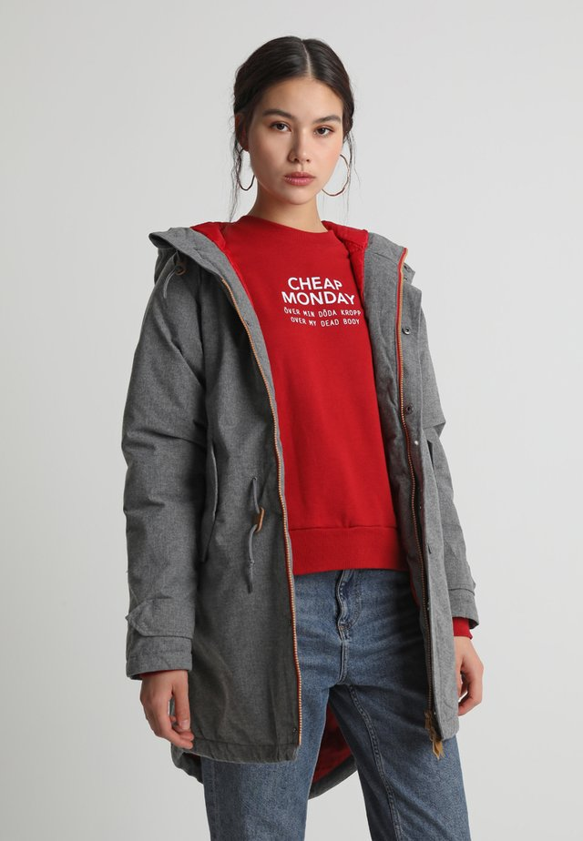 WATTN WINTER - Parka - grey melange