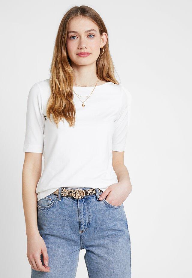 KURZARM - Basic T-shirt - summer creme