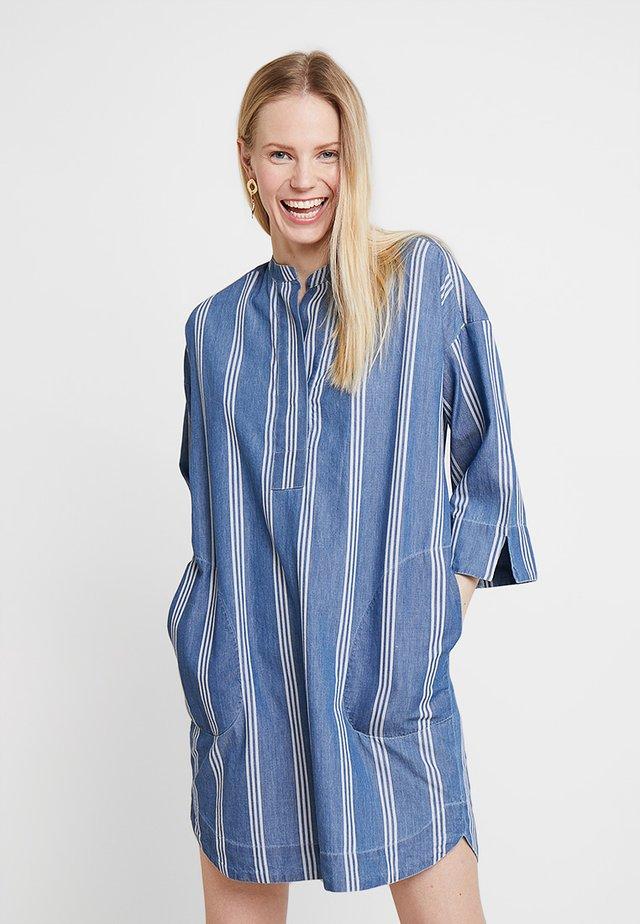 POPOVER - Day dress - indigo