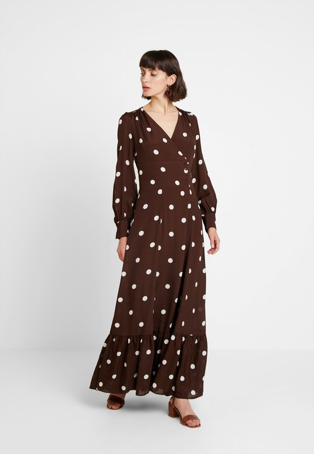 BOHEMIAN  - Maxi šaty - dark chocolate