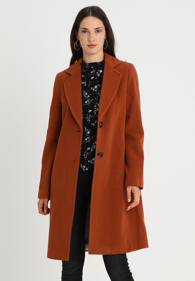 Manteau classique - soft camel