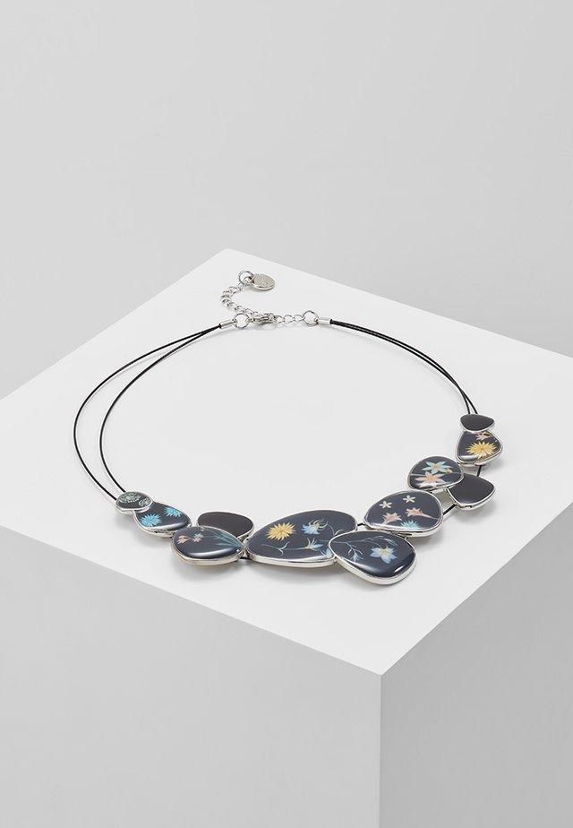 ROMANTIC FLOWERS CHAPAS - Halskette - black/silver-coloured