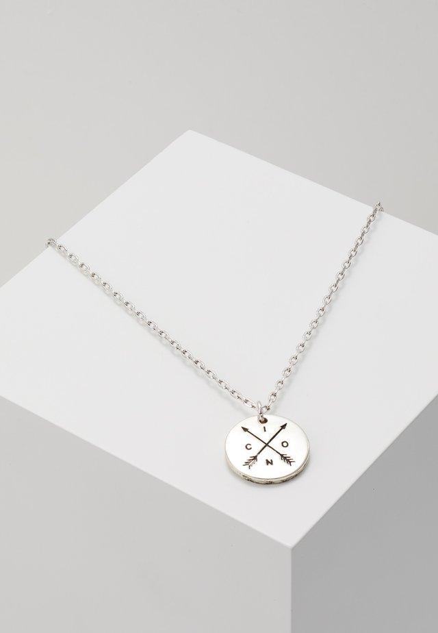 TAKE AIM PREMIUM NECKLACE - Smykke - silver-coloured