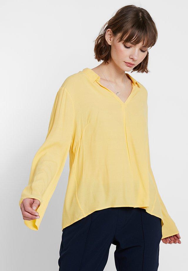 AGDA BLOUSE - Camicetta - cornsilk yellow