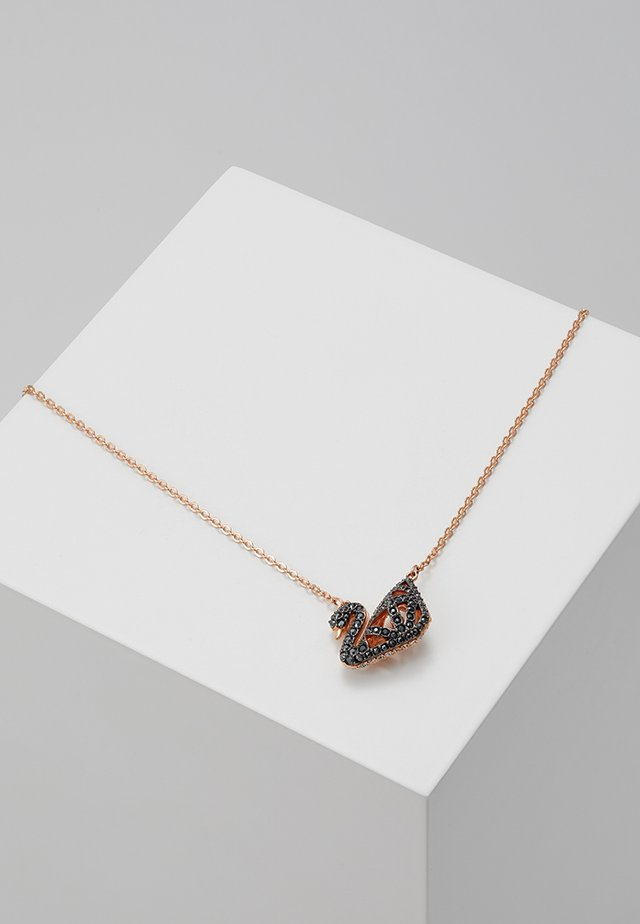 FACET SWAN NECKLACE  - Collier - jet