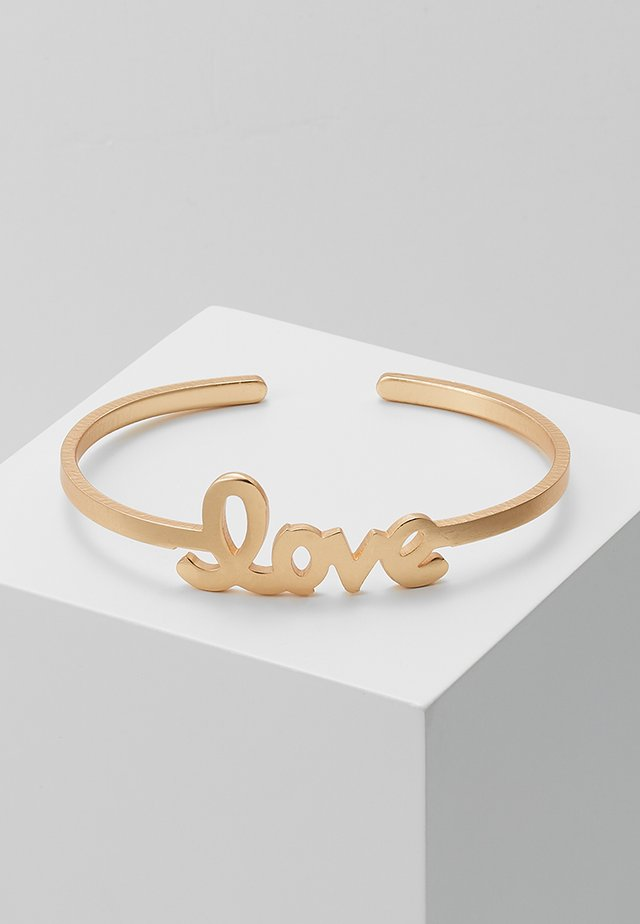 ARMSPANGE LOVE - Bracciale - gold-coloured