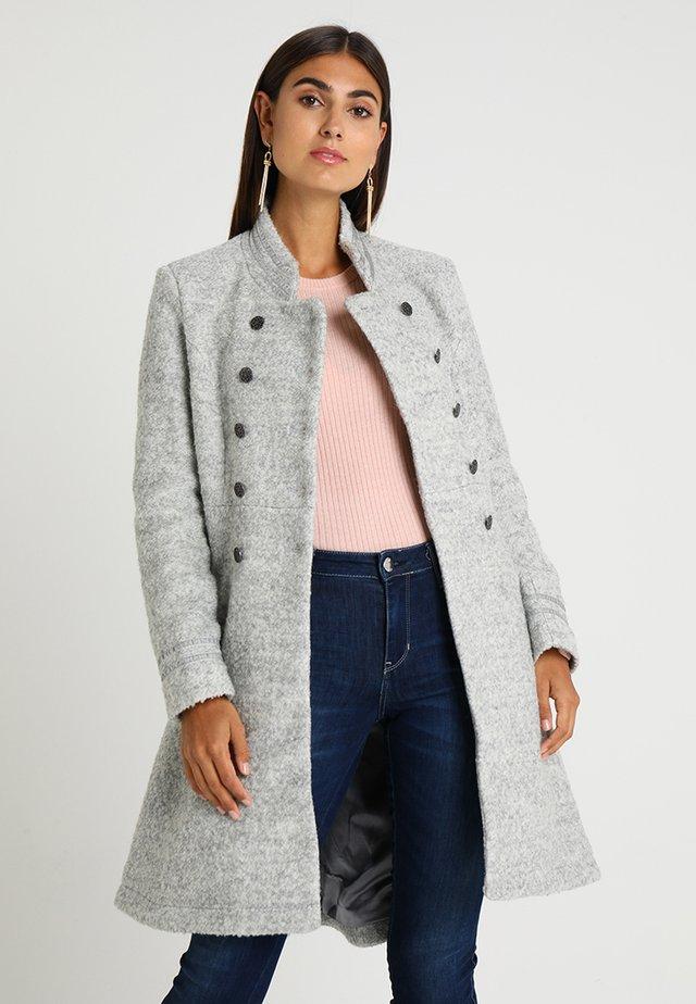 ANNABELL - Short coat - light grey melange