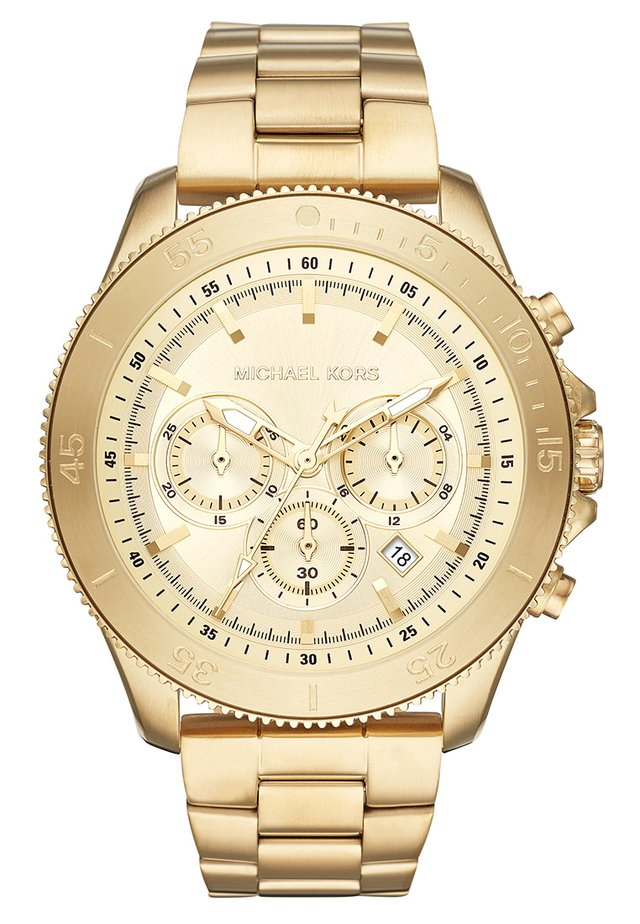 THEROUX - Chronograph watch - gold-coloured