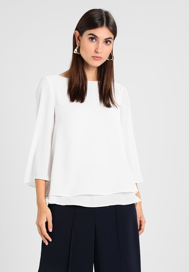 SOFT CREPE - Blusa - off white