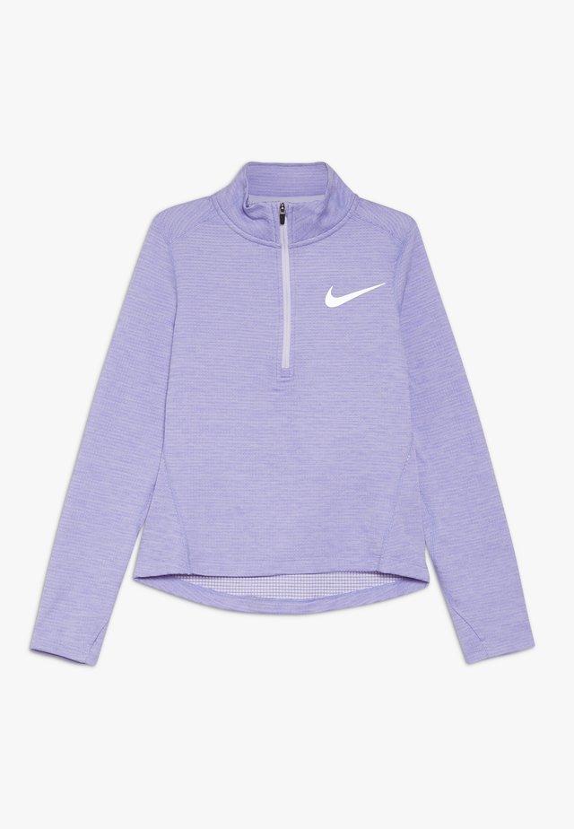 RUN - Treningsskjorter - lavender mist/medium violet