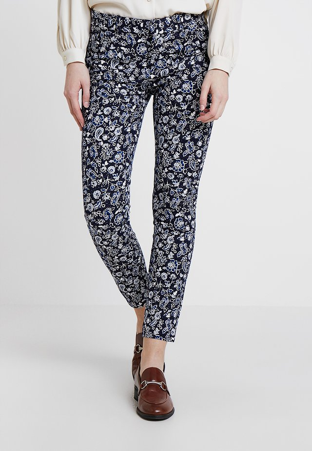 ANKLE BISTRETCH - Trousers - blue