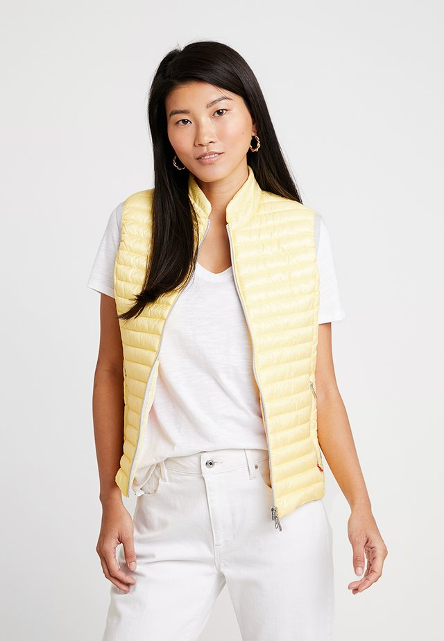 VEST - Veste sans manches - lemon ice