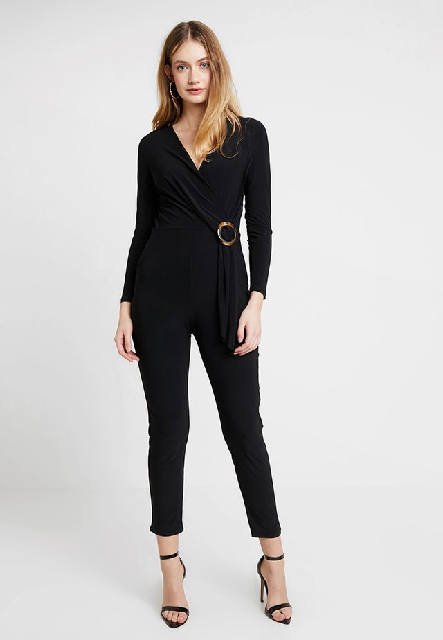 RING WRAP - Jumpsuit - black
