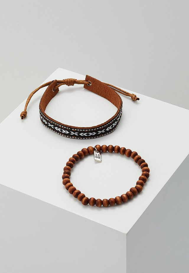 OAXACA BRACELET SET - Bracelet - brown