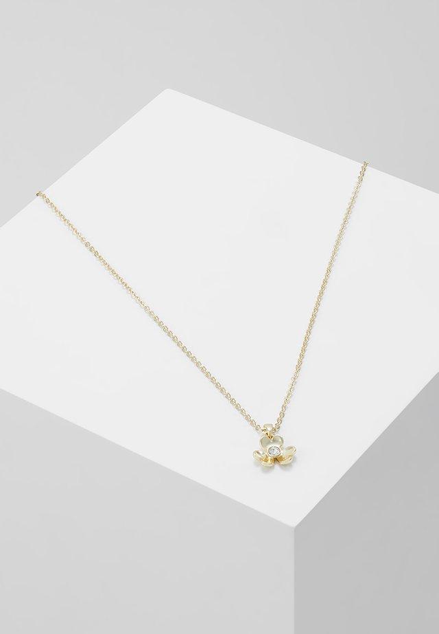 HARPRIA HEART BLOSSOM PENDANT - Collier - pale gold-coloured