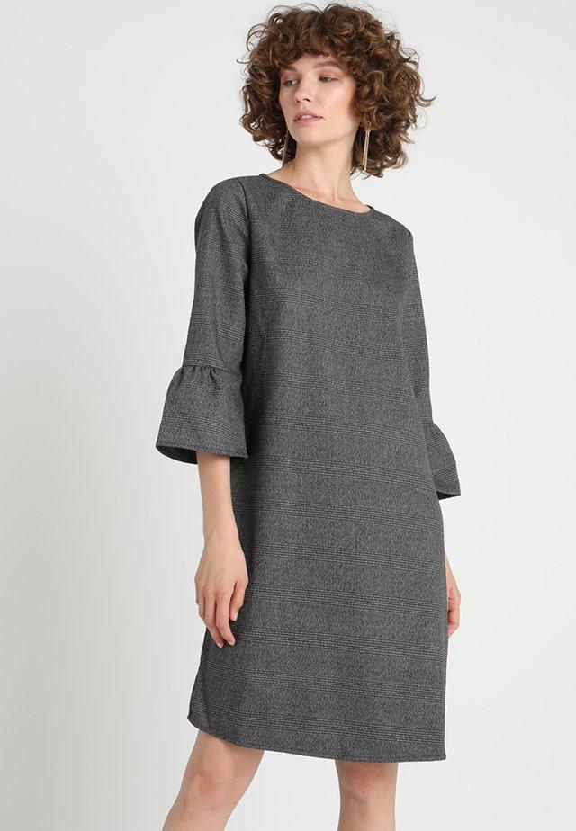WINY CHECK - Vestito estivo - slate grey melange